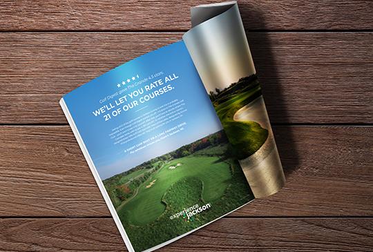 Experience Jackson Golf Ad