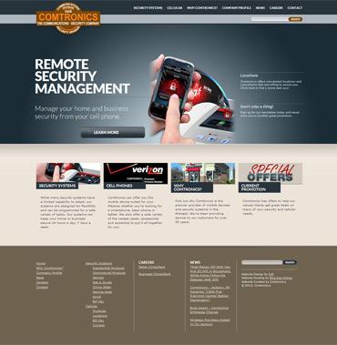 Comtronics website